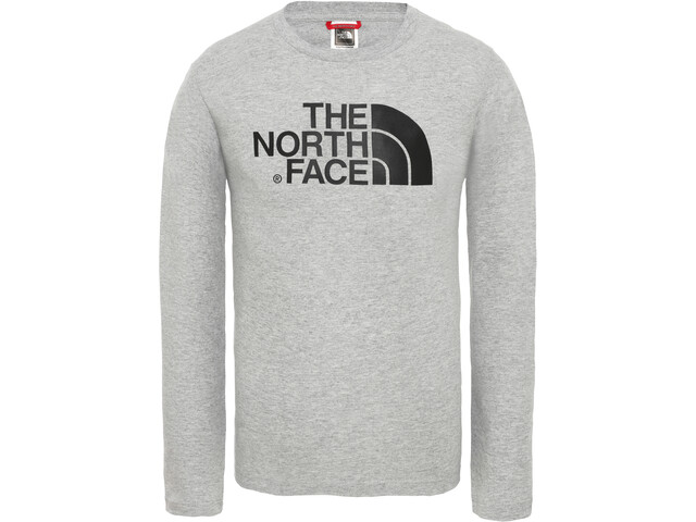 The North Face Easy Maillot manga larga Niños, tnf light grey heather